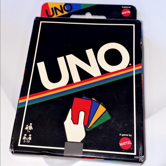 Uno cards- retro addition